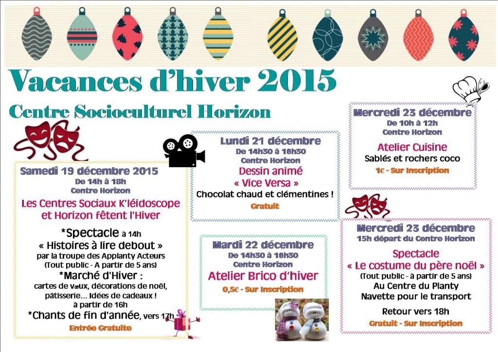 vacances hiver 2015